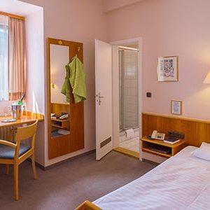 Schlafzimmer Hotel
